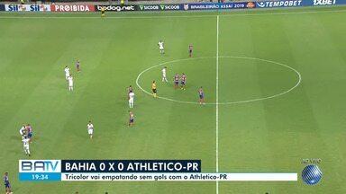 Bahia enfrenta o Athletico-PR neste sábado e busca se manter no G-6 do Brasileirão - Mais de 32 mil ingressos foram vendidos para assistir ao jogo.