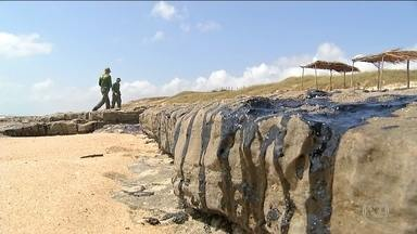 Bolsonaro determina investigação sobre manchas de petróleo - Segundo o Ibama, mais de 120 praias do Nordeste foram atingidas por manchas de petróleo. Sergipe decretou situação de emergência.