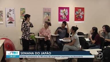 Evento comemora os 90 anos de imigração japonesa na Amazônia - A comunidade japonesa realizou a semana do Japão, em Santarém.