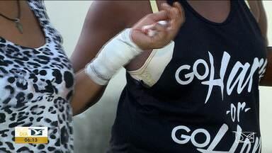Homem é preso em flagrante após agredir vizinha em São Luís - Final de semana teve mais de 50 ocorrências de violência contra a mulher na Região Metropolitana da capital e em um dos casos um homem esfaqueou a vizinha depois de uma bebedeira.