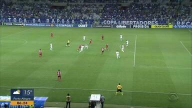 Confira os gols do empate entre Cruzeiro e Inter - Jogo teve pênalti polêmico marcado a favor dos mineiros.