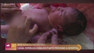 Bebê nasce em motel de São Paulo - Pai contou com a ajuda da médica por telefone para realizar o parto da mulher