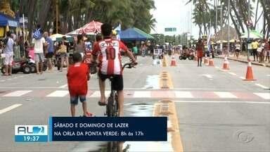 Prefeitura de Maceió abre rua fechada no sábado - Rua fechada abre aos domingos, mas vai abrir no sábado para o Dia das Crianças.