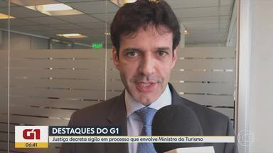 G1 no BDMG: Justiça decreta sigilo no processo envolvendo Ministro do Turismo - Marcelo Álvaro Antônio (PSL) foi denunciado na semana passada por três crimes envolvendo candidaturas-laranjas em 2018.
