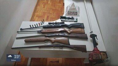 Polícia procura por criminosos envolvidos em assalto a sítio em Monte Santo de Minas, MG - Polícia procura por criminosos envolvidos em assalto a sítio em Monte Santo de Minas, MG