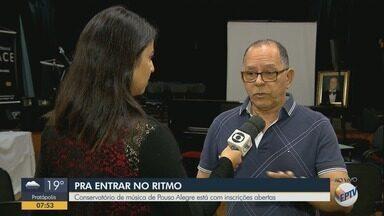 Conservatório de Música de Pouso Alegre tem inscrições abertas - Conservatório de Música de Pouso Alegre tem inscrições abertas