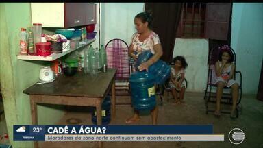 Moradores de bairros da Zona Norte de Teresina estão há a dias sem água - Moradores de bairros da Zona Norte de Teresina estão há a dias sem água