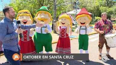Oktoberfest de Santa Cruz do Sul inicia nesta quarta-feira (8) - A tradicional festa dura 12 dias com muita bandinha, culinária germânica e muito mais.