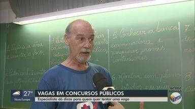 Especialista dá dicas para quem quer tentar uma vaga em concurso público - Matão, Tambaú, Ibaté, Divinolândia e Analândia estão com inscrições abertas.