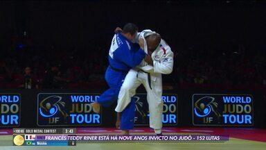 Francês Teddy Riner conquista ouro na etapa de Brasília do Grand Slam de judô e está há 9 anos invicto - Francês Teddy Riner conquista ouro na etapa de Brasília do Grand Slam de judô e está há 9 anos invicto