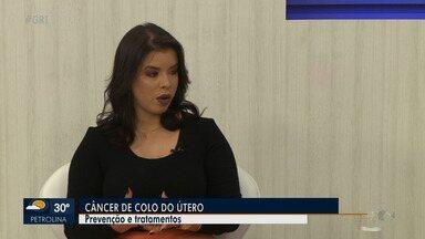 Ginecologista tira dúvidas sobre o tratamento e prevenção do câncer de colo de útero - O câncer de colo de útero, é o terceiro que mais acomete a população feminina. Em Pernambuco, é o segundo mais comum entre as mulheres jovens.