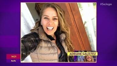 Adriane Galisteu tem telefone hackeado e lamenta: 'Me deu um desespero' - Apresentadora e atriz conversa com o 'Se Joga' e revela como descobriu que tinha sido vítima de um hacker