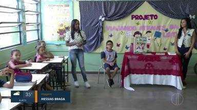 Reporteen mostra importância da educação para as crianças - Kayky Santos visitou escola Egídio Cordeiro.