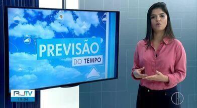 Veja a previsão do tempo para esta quinta-feira, 10 de outubro - Confira como ficam as temperaturas nas cidades do interior do Rio.