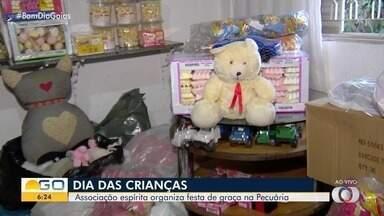 Associação arrecada doações para o Dia das Crianças em Goiânia - Veja como você pode ajudar a Associação Espírita Casa de Boiadeiro.
