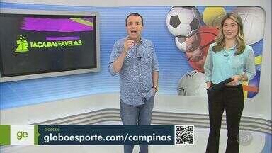 Taça das Favelas de Campinas divulga favela selecionadas e abre inscrição para jogadores - Serão 32 equipes masculinas e 12 femininas.