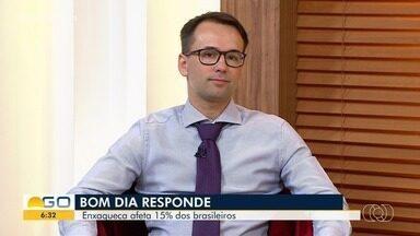 Bom Dia Responde de Goiás fala sobre enxaqueca - Segundo pesquisas, cerca de 15% da população sofre com as dores.
