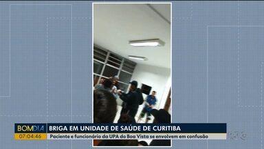 Atendente e paciente registram queixa após briga em UPA - A discussão que terminou em briga foi na noite de terça-feira (08), na UPA do Boa Vista.