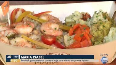 Festival gastronômico Maria Isabel começa nesta quinta (10) em Teresina - Festival gastronômico Maria Isabel começa nesta quinta (10) em Teresina