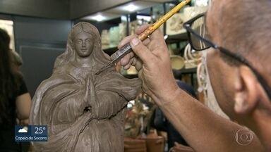 Salão do Artesanato em SP tem mais de 1500 peças à venda - Evento na Bienal do Ibirapeura reúne artesãos de todo o Brasil. Número de profissionais no ramo disparou em 2019.