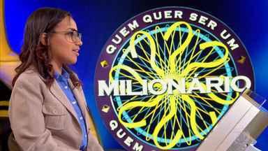 Beatriz continua participação no ´Quem Quer Ser Um Milionário´ - Estudante de Biblioteconomia tenta ganhar um milhão de reais