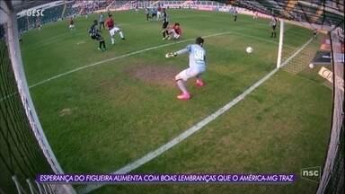 Figueirense enfrenta o América-MG neste sábado - Figueirense enfrenta o América-MG neste sábado