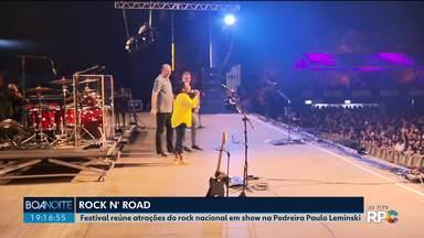Festival Rock 'n' Road agita Curitiba - Harleiros passearam de moto pela cidade e agora curtem show na Pedreira Paulo Leminski.