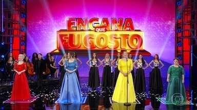 Faustão revela quem é a enganadora dentre as cantoras líricas - Amadora faz grande apresentação e consegue enganar a plateia
