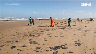 A situação das praias do Nordeste poluídas por óleo