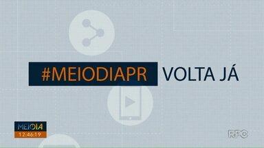 Telespectadores chamam o intervalo do Meio Dia Paraná - Participe você também através do (43) 99972-5178.