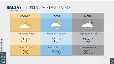 Veja as variações das temperaturas no Maranhão - Confira a previsão do tempo nesta terça-feira (15) em São Luís e também no interior do estado.