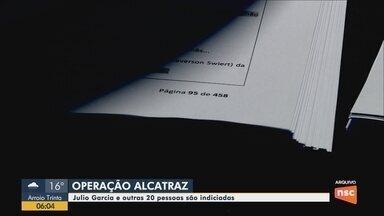 Presidente da Alesc, Julio Garcia é indiciado por quatro crimes na operação Alcatraz - Presidente da Alesc, Julio Garcia é indiciado por quatro crimes na operação Alcatraz