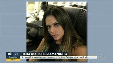 Shanna Garcia presta depoimento na Delegacia de Homicídios nesta terça-feira (15) - A empresária Shanna Garcia vai prestar depoimento nesta terça (15) na Delegacia de Homicídios, na Barra da Tijuca. Ela foi baleada no estacionamento de um shopping no Recreio.