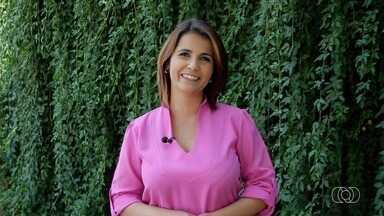 Confira os destaques do Jornal Anhanguera 1ª Edição - Jornal começa às 11h45 e é apresentado pela Lilian Lynch.