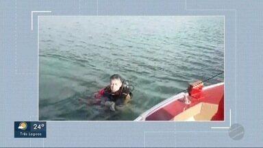 Bombeiros encontram corpo de comerciante em rio de MS - Ele se desequilibrou e caiu nas águas do rio Sucuriú, em Três Lagoas.