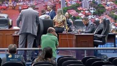 Veja como foi a sessão de segunda-feira da Câmara de Vereadores de Dourados - Dois parlamentares que voltaram recentemente à Casa de Leis não apareceram.