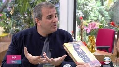 Rodrigo Alvarez conta a história do livro 'O Primeiro Imortal' - Na história um homem 'renasce' depois de 38 mil anos