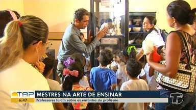 Conheça histórias de professores apaixonados pelo dom de ensinar - Dia do professor é comemorado no dia 15 de outubro no Brasil.
