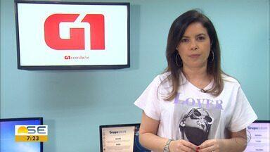 Joelma Gonçalves conta os destaques do G1 Sergipe - Joelma Gonçalves conta os destaques do G1 Sergipe.