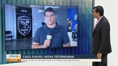 Caso Flávio: Nova testemunha é acrescentada nas investigações - Ela foi ouvida no Ministério Público do Estado nesta segunda-feira.