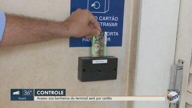 Entrada dos banheiros do terminal rodoviário será controlada por cartões em Ribeirão Preto - Proposta da Transerp busca evitar atos de vandalismo.