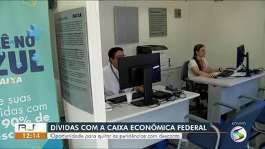 Caminhão da Caixa Econômica oferece desconto no pagamento de dívidas em Volta Redonda - Unidade móvel está estacionado na Praça Brasil, no bairro Vila Santa Cecília até o dia 16 de outubro.