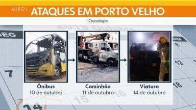 Viatura do Corpo de Bombeiros é incendiado em Porto Velho - Viatura do Corpo de Bombeiros é incendiado em Porto Velho