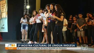 2ª Mostra Cultural de Língua Inglesa inicia em Santarém - Crianças aprendem inglês de uma forma divertida.