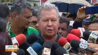 Prefeito de Manaus comenta caso de engenheiro Flávio - Arthur Neto disse que confia no trabalho da polícia.