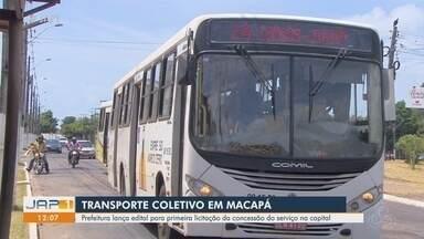 Licitação do transporte coletivo prevê Wi-Fi em ônibus e alta de 12% nas viagens diárias - Prefeitura de Macapá lançou proposta nesta terça-feira (15). Edital contempla otimização de linhas, aumento de vias atingidas e maior abrangência dos veículos dentro dos bairros.