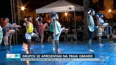 Grupos de dança se apresentam na Semana Maranhense de Dança na capital - O repórter Werton Araújo tem mais informações.