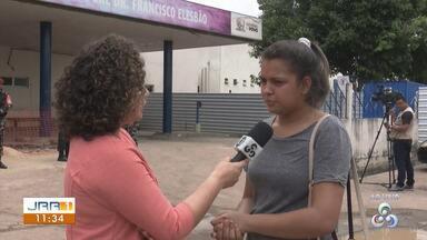 Familiares buscam informações no HGR por vítimas de explosão em Boa Vista - Três explosões foram registradas dentro de uma empresa que comercializa cilindros de gases oxigênio e acetileno.