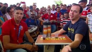 Caldinho do GE: em Camutanga, personagem principal é? Camutanga, do Náutico - Resenha mais animada do futebol pernambucana foi parar na Zona da Mata de Pernambuco