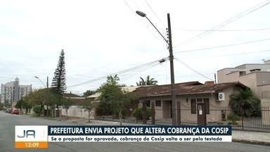 Prefeitura de Joinville envia projeto que altera cobrança da Cosip à Câmara - Prefeitura de Joinville envia projeto que altera cobrança da Cosip à Câmara